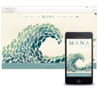 Mana Wines Website Design