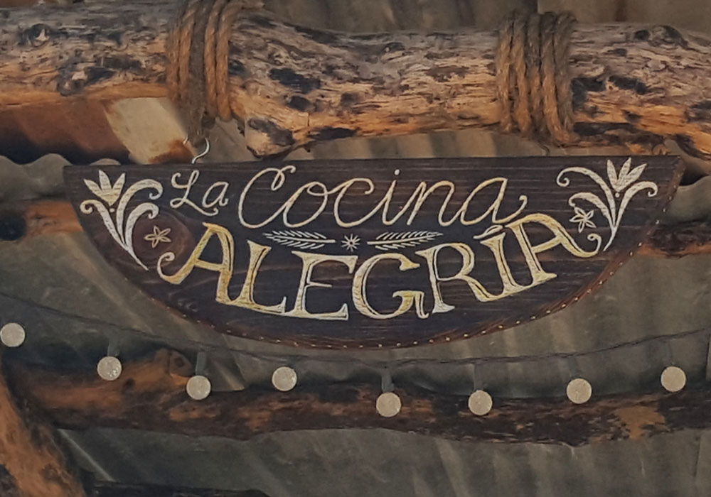 Custom Hand-Carved Sign